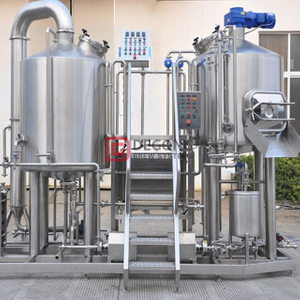 500L/5BBL Customized Craft Turnkey Beer Equipment for Brewhouse