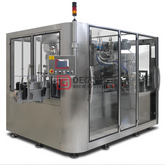 1000 Cans Per Hour Automatic Craft Beer Aluminum 3 in 1 Cans Filler Filling And Sealing Machine