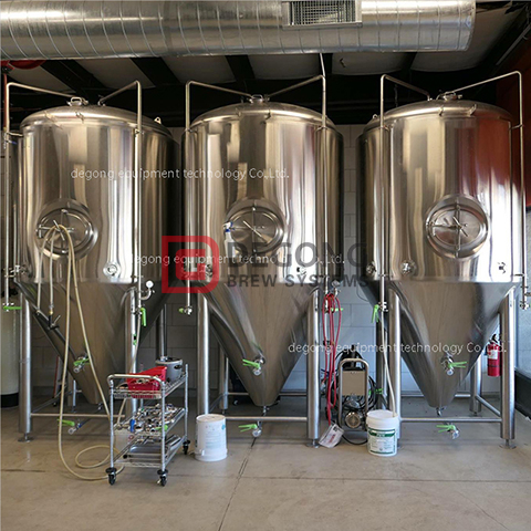 500L professional commercial steel beer making machine / brewery equipment for sale