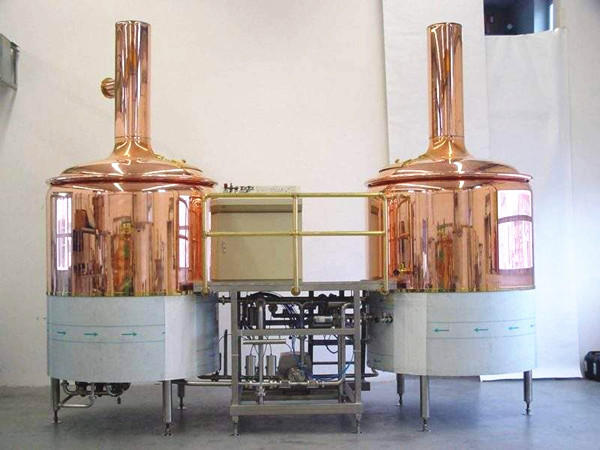500L professional commercial steel beer making machine ...