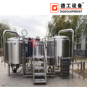 2000l Stainless Steel 3-vessel Craft Beer Making Machine Beer Brewhouse Equipment Hot Sale in European