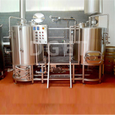 500L Microbrewery Brewing Beer Brewery Plant Used Beer Mashing System with CE Certificate