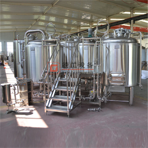 5HL Per Brew Microbrewery System 2/3 Vessels Electric/steam Heating Customized Pub Brew Beer Brewhouse