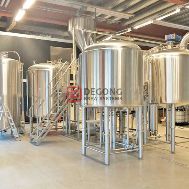 1000L Turnkey Steam Beer Brewing System Superior Quality Brewery Equipment in France