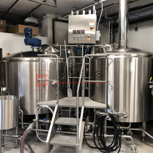 2000L(20HL) Craft Beer Brewhouse Unit DEGONG Brewery Equipment Company for Restaurant Online