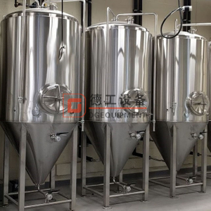 7 Barrel Brewery Cylindrically-conical Fermenters tanks for the fermentation and maturation of beer