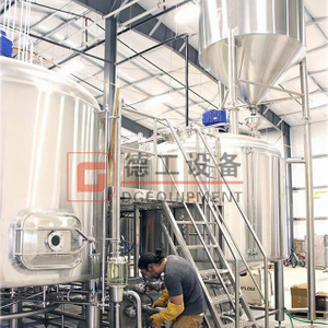 500L 2-vessel Electric Heating Method Turnkey Craft Commercial Complete of Brewery Equipment