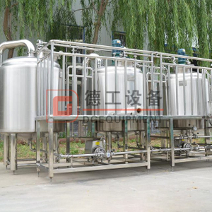 5BBL brewhouse system for electric heating Superb craftsmanship food grade stainless steel beer equipment