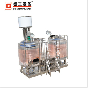 1000L commercial craft red copper brewhouse equipment with CE ertificate for sale