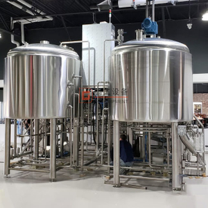 buy a turnkey 600L beer brewing equipment affordable price brewery equipment for brewpub by DEGONG maker provided