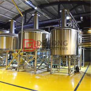 Focus on Sanitary Grade 10bbl beer brewing equipment in stock