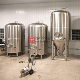 10BBL/15BBL/20BBL commercial jacket fermentation tank fermenter