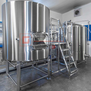 1-20BBL Craft Beer Double Wall Set Up Large Brewery for Sale