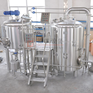 500L 1000L 2000L SUS304 Commercial Brewery/bar Used Barley/wheat Beer Brewing Equipment with Rice Cooking Tank