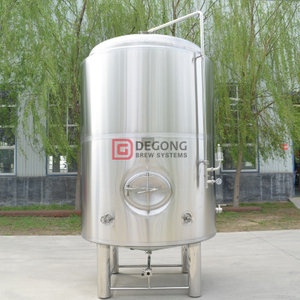 4000L cusomizable stainless steel brewery equipment beer bright tank for beer serving