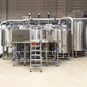 600L 3 Vessels Wort Production System/ Beer Brewhouse for Commercial Brewery Equipment Used