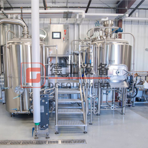 800L China Professional CE TUV Nano Brewhouse Microbrewery Euqipment