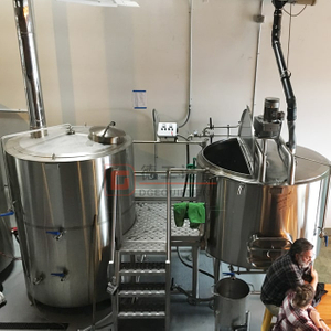 500L Customized Available All in One Brewing System Stainless Steel Brew Kettle for Beer Brewery