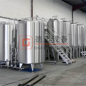 3BBL 5BBL 7BBL 10BBL Brewery Equipment Custom Electric/steam Heating 2 Vessels Beer Brewhouse