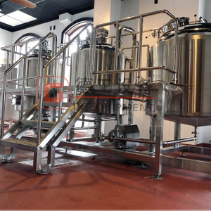 3000L Craft Beer Brewery Equipment Stailnless Steel Turnkey Industrial Brewing Equipment