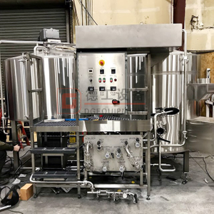 500L Flexible brewery equipment restaurant used beer brewing system for attracting more craft beer lovers
