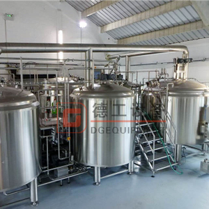 2500L Industrail Stainless Steel Professional Turnkey Brewing Equipment for Craft Brewhouse Unit