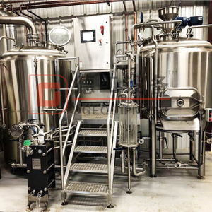 10BBL Brewing Equipment SUS304/316 Industrial Brewhouse