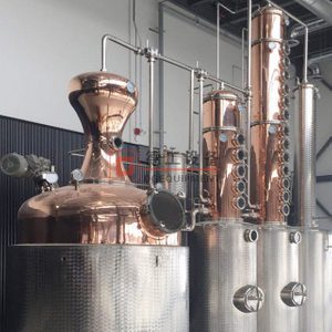 custom-made craft Distillers professional copper wiskey 18 plate medium distillery equipment