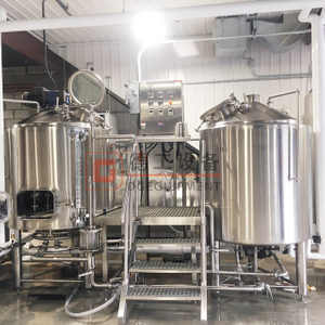 600L Commerical Complete Stainless Steel/Copper Automatic Beer Brewery Equipment for Sale