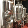 Available 1000L stainless steel beer brewery equipment three vessels brewhouse brewing system in Italy