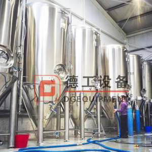2000L Premium Quality SUS304 Fermentation Vessel Conical Dimple Jacket Fermenter