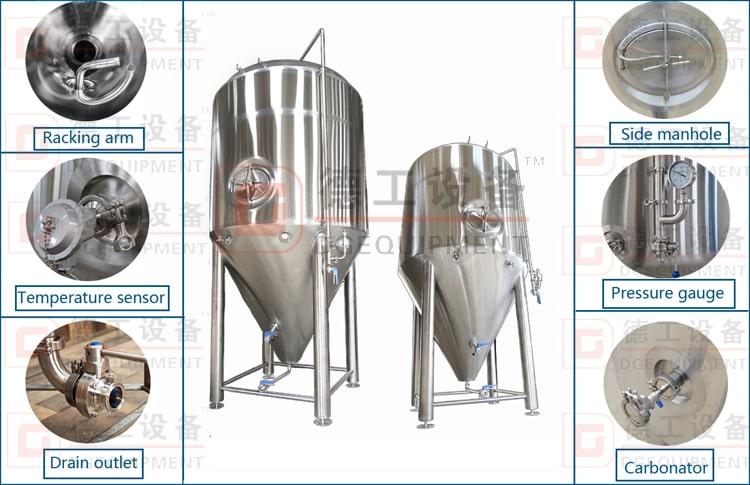 1000L fermenter