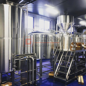 Turnkey Nano Commercial Reataurant 600L Brewery Equipment
