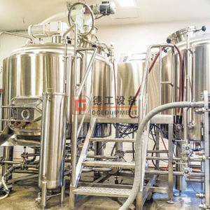 Brewing system 3 bbl to 100 bbl brewhouse 100% made in China integrated multivessel available