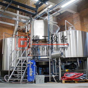 500L All Grain Microbrewery Equipment for SS/Copper Brewhouse Unit Craft Mash System