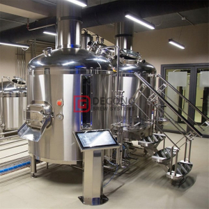 1200L Turnkey Customized microbrewery equipment sus304 Restaurant DEGONG Manufacturer