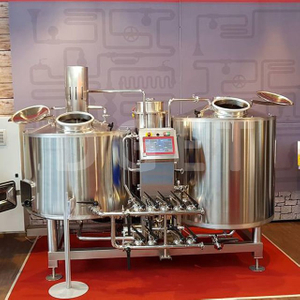 300L Complete Microbrewery Small Scale Mini Home Brewing Equipment Craft Beer Making Machine