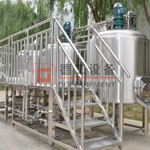 Commercial brewing equipment middle-sized craft brewing 30bbl brewery equipment for sale