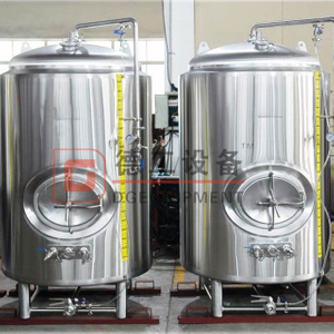 20BBL Complete Bar Restaurant Brewing System Craft Commercial Stackable Bright Beer Tank/ Serving Tank