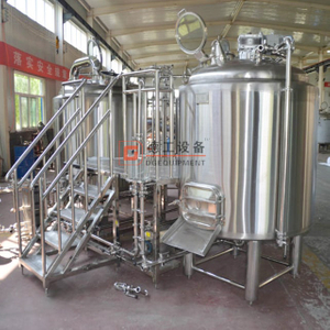 1000L Per Batch Top Quality Customized Craft Brewery Plant Beer Brewing System Installed in Italy