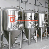 500L Stainless Steel Brewery Equipment for Double Wall Qlycol Tank Cooling Fermentation Tank
