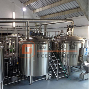 600L Craft Commercial Brewhouse All Grain Beer Brewing Equipment