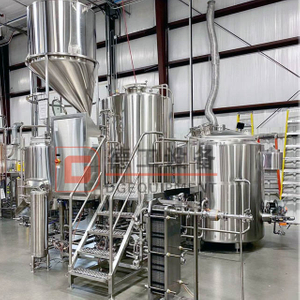 900L Chinese Professional Manufacturer Beer Brewery Equipment Brewing System Pub/restaurant for Sale