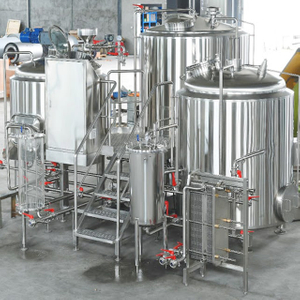 1000L Commercial/industrial Used SUS304 Automatic All Type Wheat/barley Beer Brewery Equipment