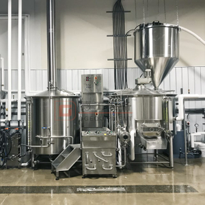800L(7BBL) Small Business Commercial Good Quality Craft Beer Brewery Brewing Equipment for Sale