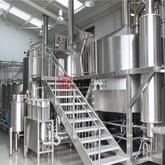 Brewing equipment Small, medium, and large brewery 50l-200hl sanitary beer machinery sales