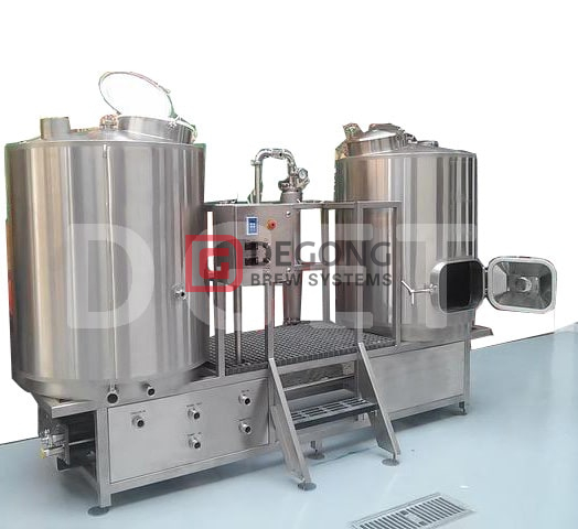 500L Microbrewery Beer Brew Equpiment Plant Used Beer Mashing System with CE Certificate