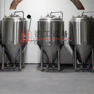 Best Brew System To Buy 30BBL (3500L) Nano Cylindrical Fermentation Tank Qlycol Cost for Sale