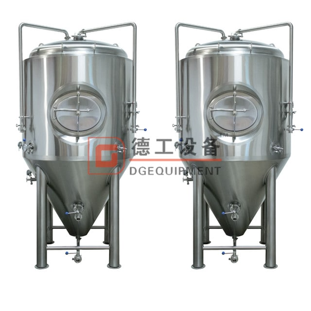 fermentation tank with blow off