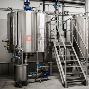 800L(7BBL) Customized 2 Or 3 Vessel Brewhouse Restaurant Beer Produce Equipment for Sale